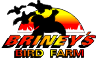 Briney's Bird Farm logo.